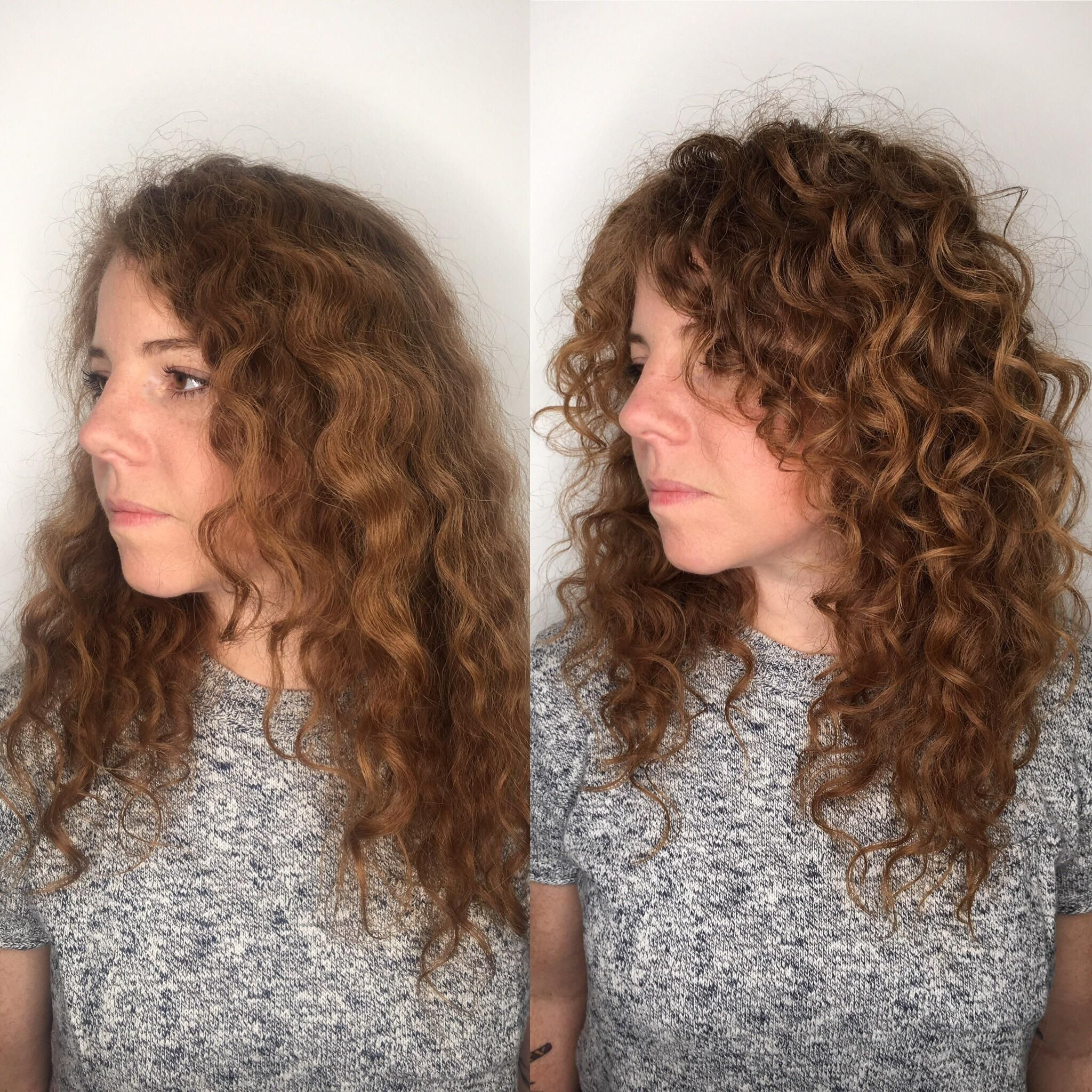 Long Curly Shag Hairstyle Curly Hair Styles Long Curly Haircuts Long Hair Styles