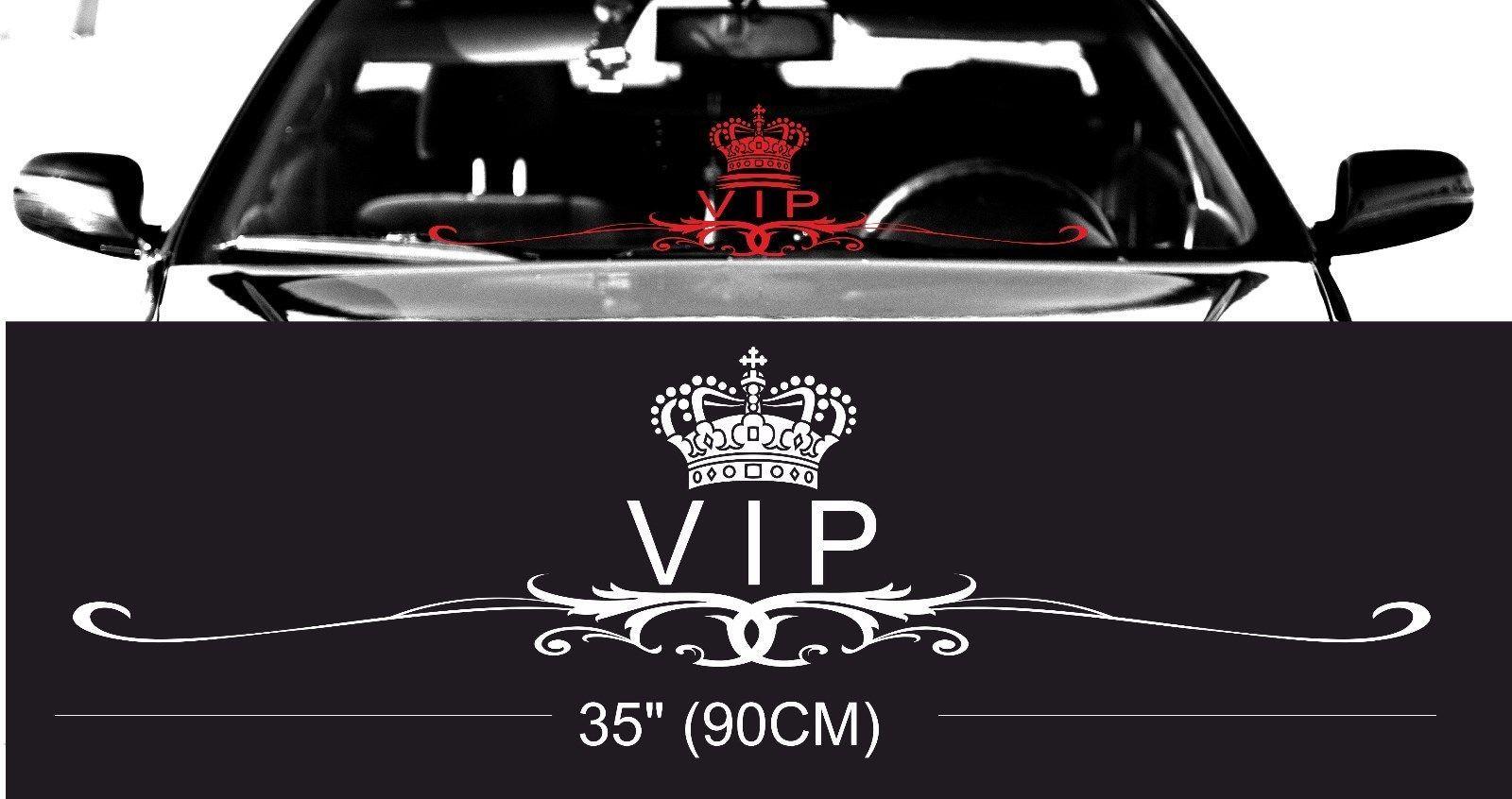 Royal Vip Classy Windshield Windscreen Front Glass Car Jdm Decal Sticker Windshield Wind Screen Interior Accessories [ 846 x 1600 Pixel ]