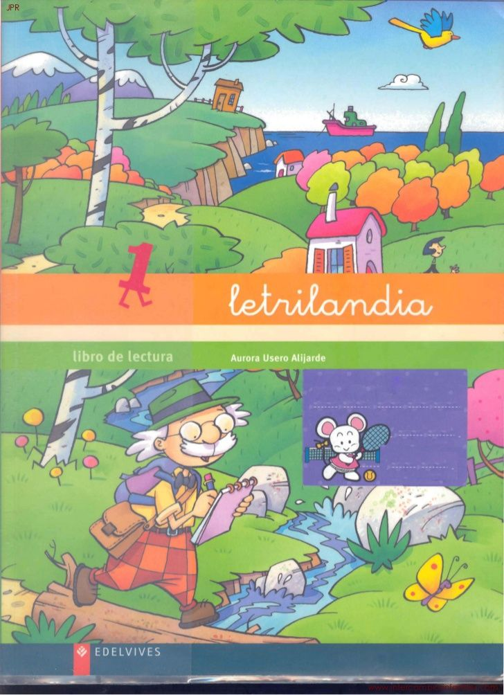 Letrilandia Libro De Lectura No 1 Jpr