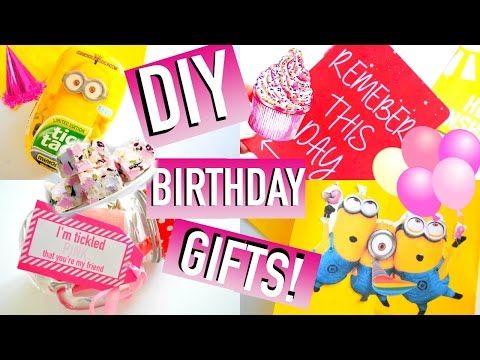 DIY Birthday Gift Ideas! | Easy & Affordable ♡ | Quick, Cute, Simple - http://LIFEWAYSVILLAGE.COM/gift-card/diy-birthday-gift-ideas-easy-affordable-%e2%99%a1-quick-cute-simple/