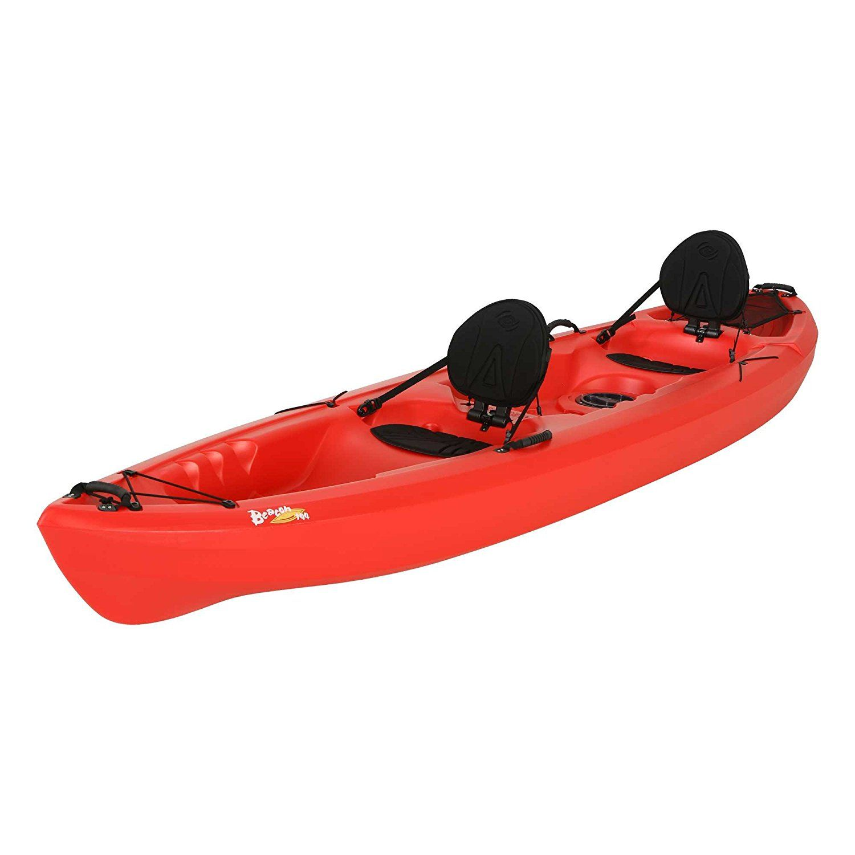 Lifetime Beacon Tandem Kayak, Red, 12