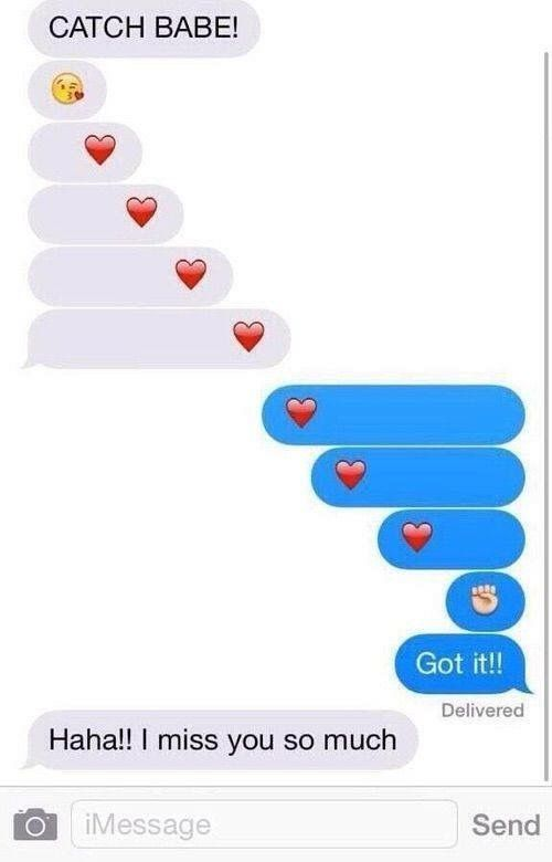 Catch A Kiss Lmao Pinterest Relationship Emoji Conversations