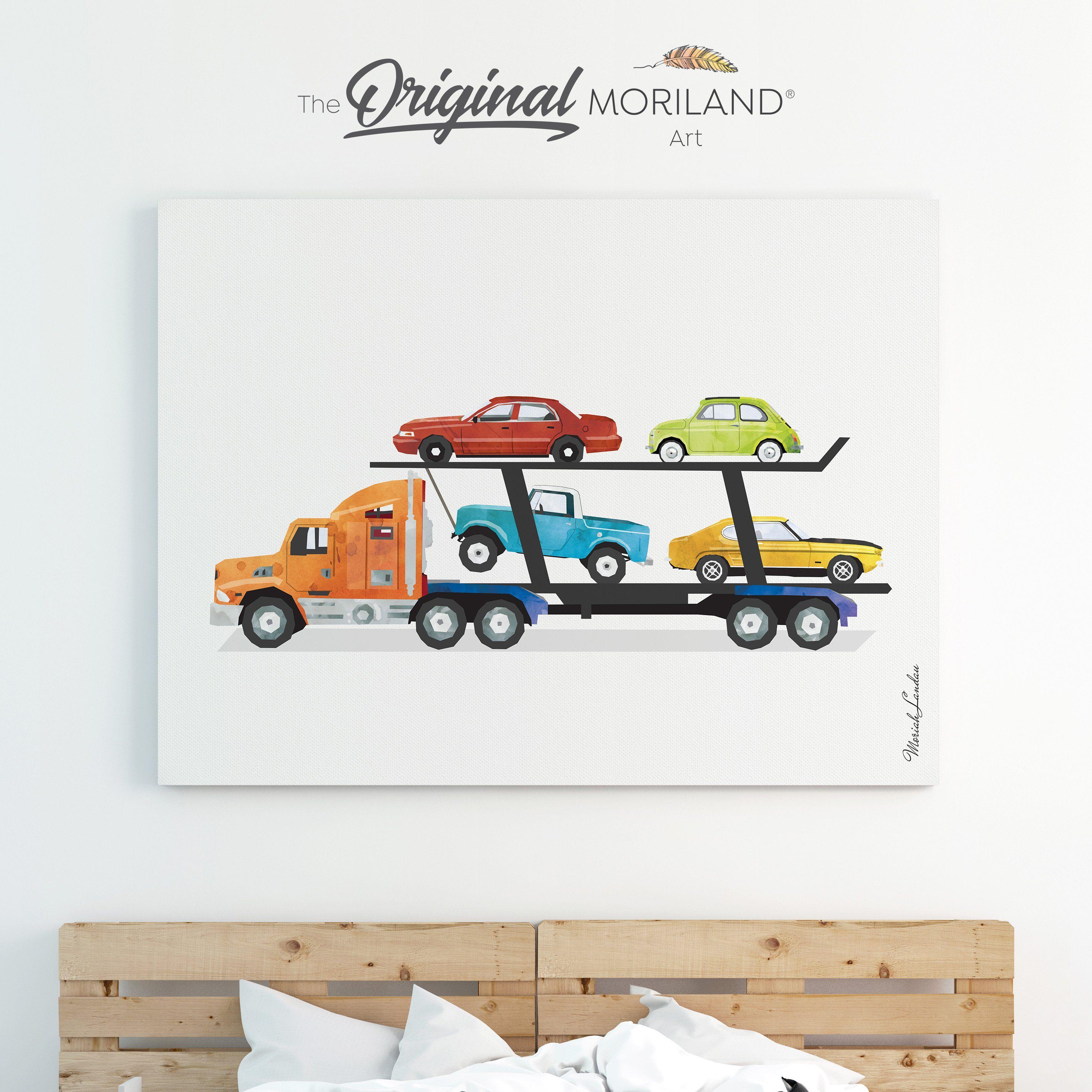 Car Print Transportation Wall Decor Boy Toddler Room Decor Watercolor Decor 4x4 Car Vertical Print Lifted Truck Wall Art Printable