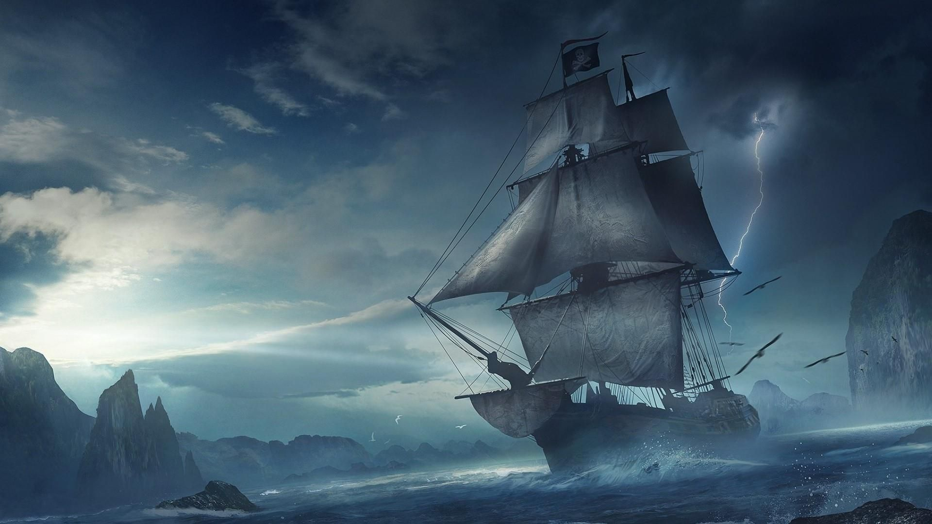Sailing Ships Hd Wallpaper 1920x1080 Id 51976 With Images