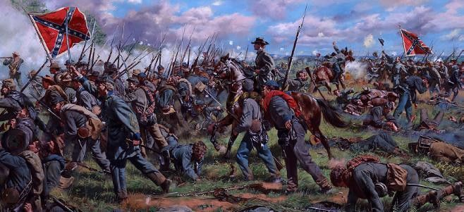 """/""""Never Give Up the Field/"""" Don Troiani Civil War Print Battle of First Manassas"""