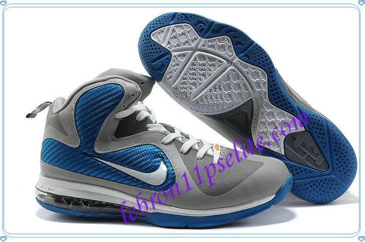 the latest c4e52 e17db Lebron 9 Shoes Lebrons IX Cool Grey Blue White 469764 007-A new sample of Lebron  9 Shoes