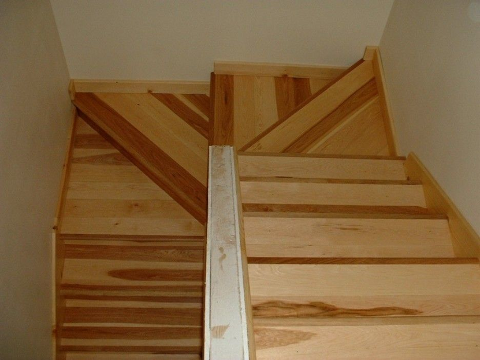Types of prefinished hardwood stair treads inspiring for Staircases types