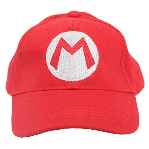 Nintendo Mario Bro: RedBaseball Cap Mario Hat Red, OneSize