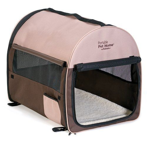 Cheap Petmate Portable Pet Home Extra Large Dark Taupe Coffee Grounds Brown Pet Mat Soft Pet Carrier Dog Crates For Sale