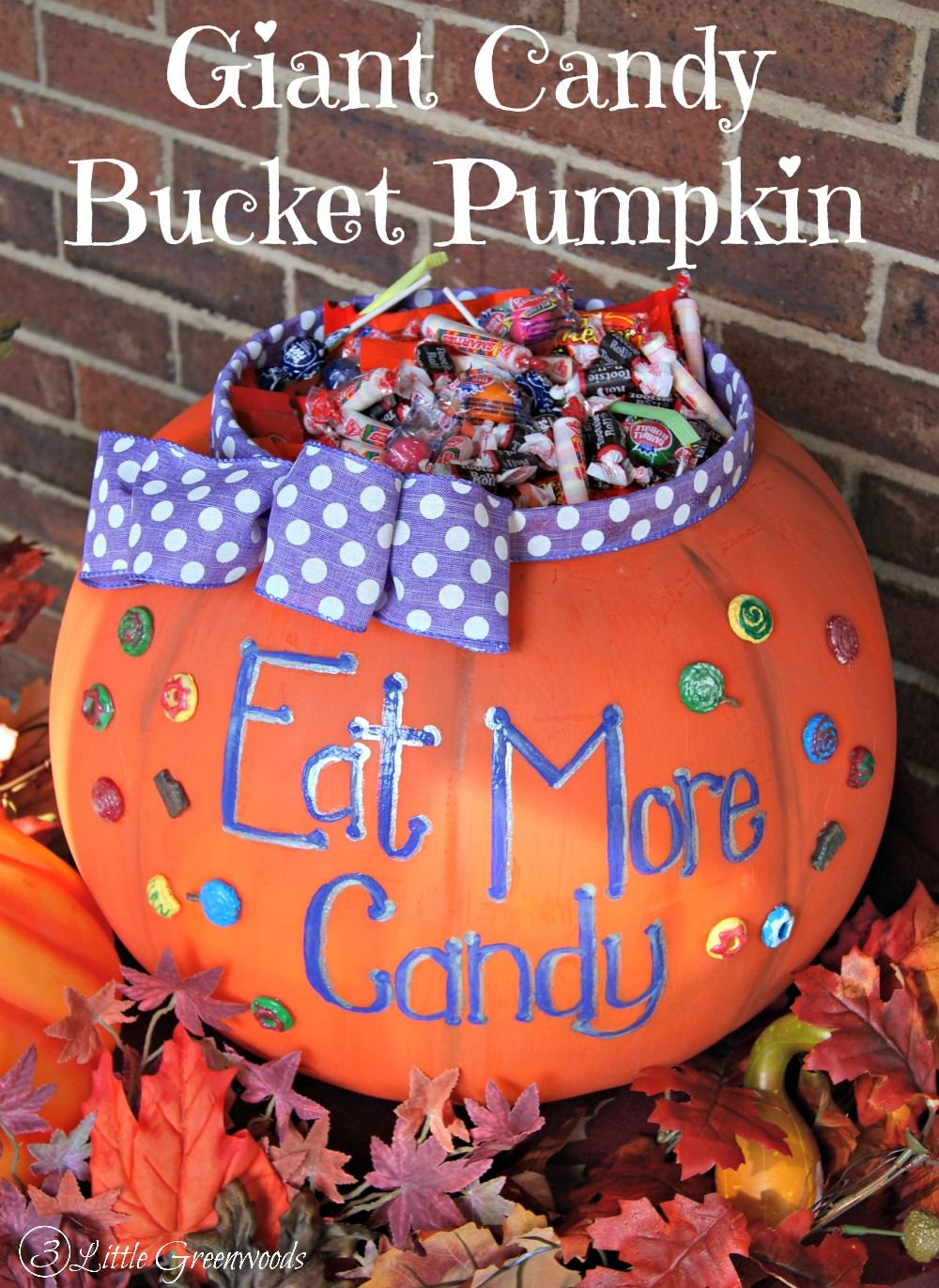 Giant Candy Bucket for Halloween by Easy halloween