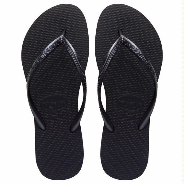 Zapatos negros Havaianas Slim para mujer c3OxkSobzh