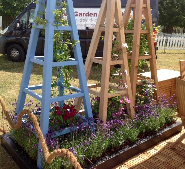 Superieur Western Red Cedar | Wooden Garden Obelisk   Image Collection