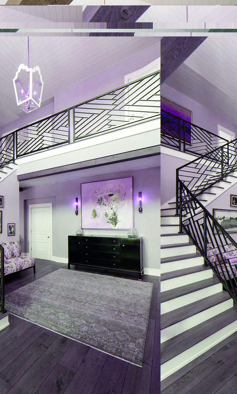 Fretwork rails ueco portfolio environment hallway stairway railing ideas modern staircase