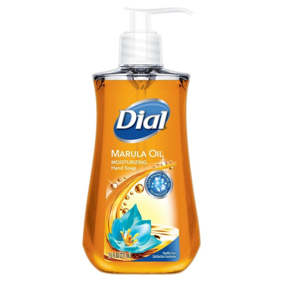 Dial Moisturizing Marula Oil Liquid Hand Soap 7 5oz Liquid