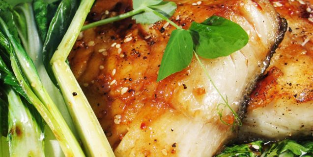 Sesame soy glazed black cod with grilled bok choy favorite recipes food forumfinder Image collections