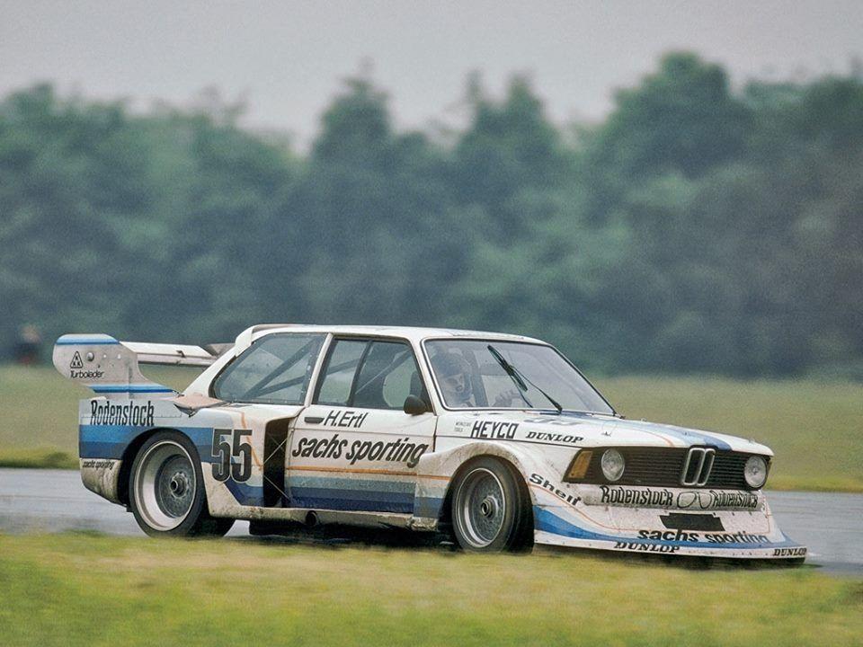 Harald Ertl im Schnitzer-BMW 320 Turbo – Deutscher Rennsportmeister 1978