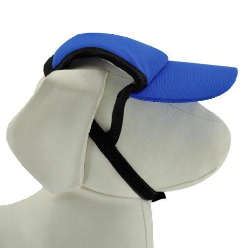 PlayaPup Sun Protective Dog Visors, Royal, X-Small - http://www.thepuppy.org/playapup-sun-protective-dog-visors-royal-x-small/