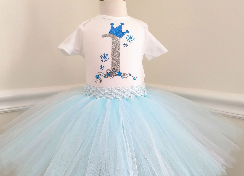 Baby Girl First Birthday Outfit Frozen Elsa Birthday Set