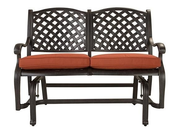 Moreaux Outdoor Bench Glider Patio Outdoor Seating Raymour And Flanigan Furniture Mattresses Mattress Furniture Outdoor Bench Outdoor Living Space