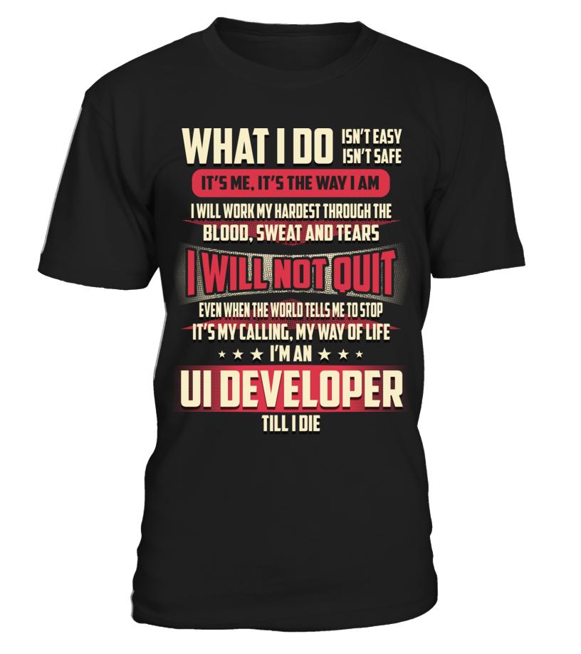 Ui Developer - What I Do