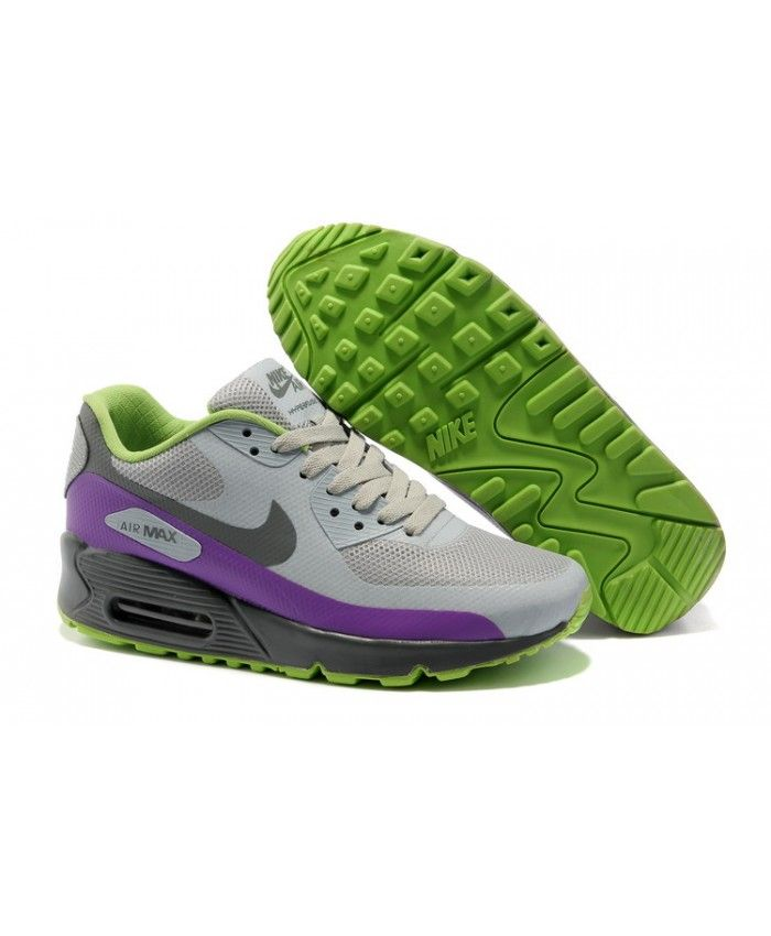 nike air max 90 hyperfuse green purple