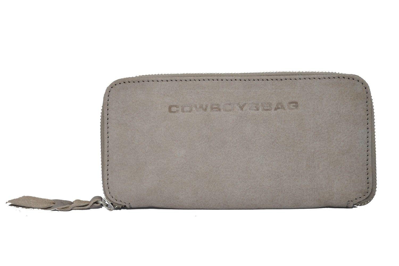 Cowboysbag Portemonnaie PURSE NEATH Leder-Geldbörse, sehr helles Grau Marken Cowboysbelt