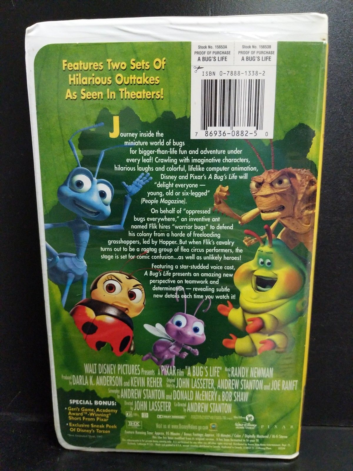 A Bugs Life Vhs 1999 A Bug S Life Life Vhs