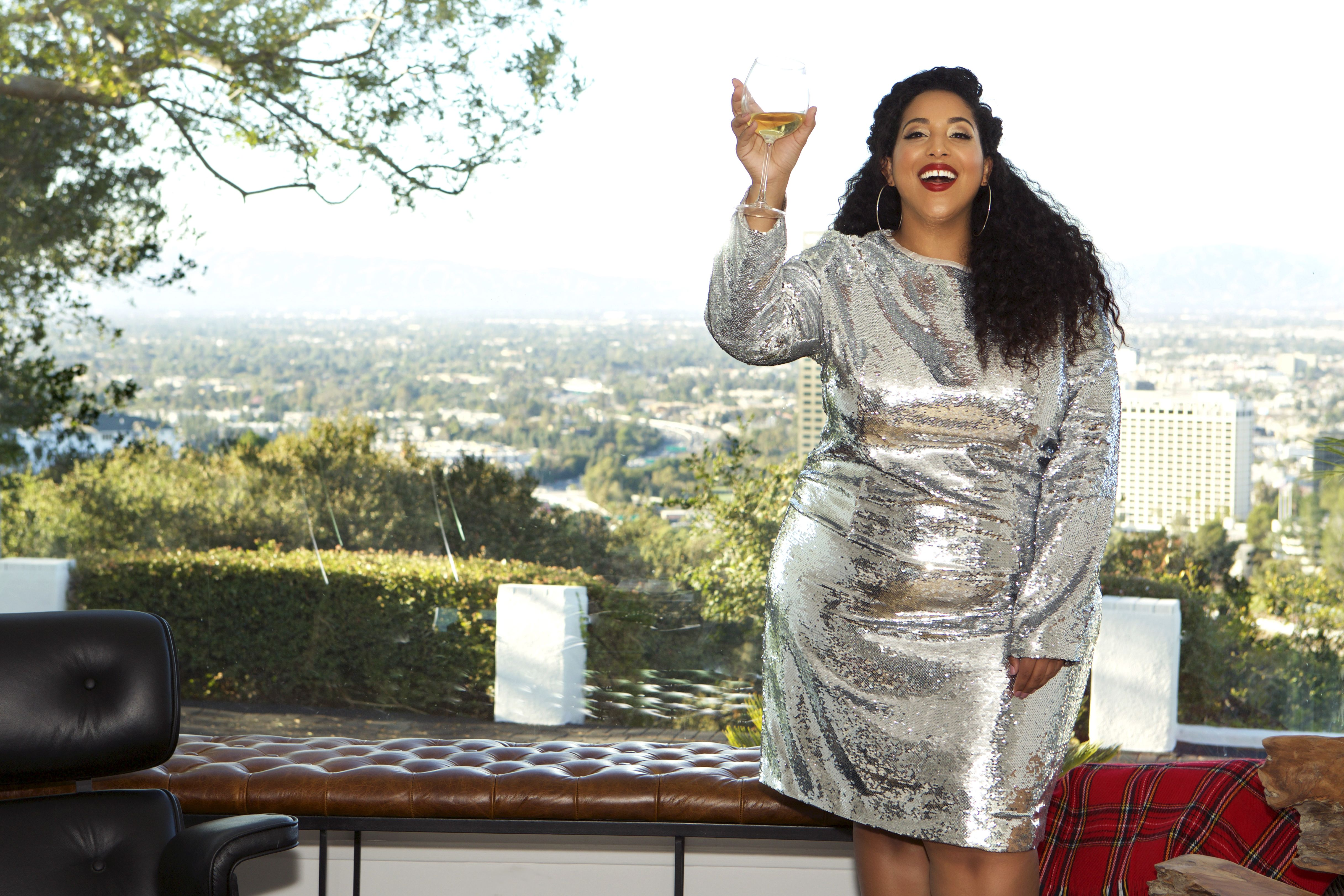 5e4770aa Plus Size Party Dresses, Sequin Party Dress, Silver Sequin, Shoulder Sleeve,  Holiday