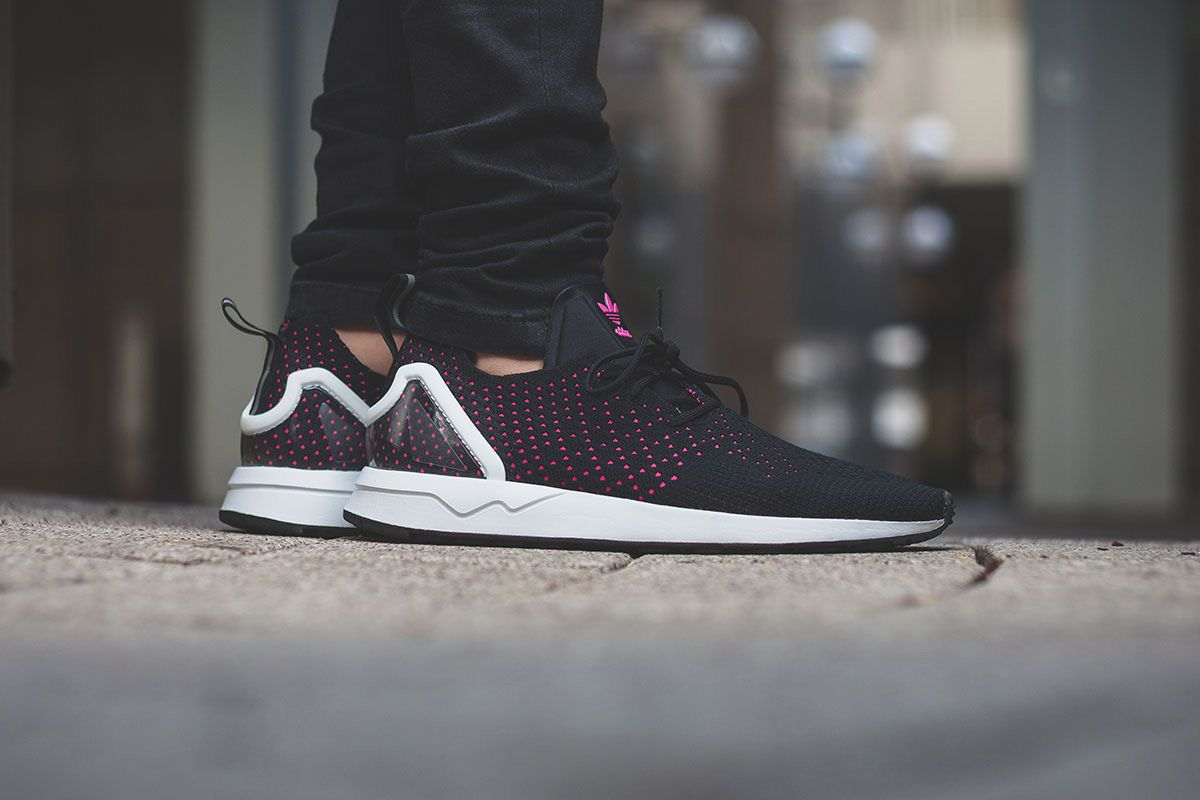 ZX FLUX Adv Asym | Sneakers | Sneakers fashion, Pink adidas
