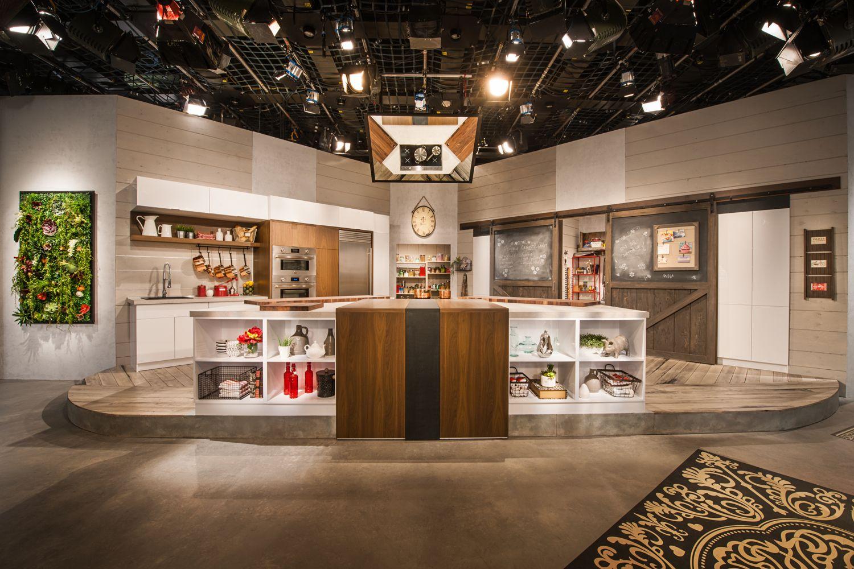 Cuisine studio armoire de cuisine en bois de noyer clair - Porte de cuisine en bois ...
