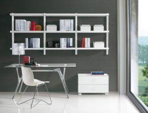 home office wall shelving. Home Office Wall Mounted Shelves Shelving E