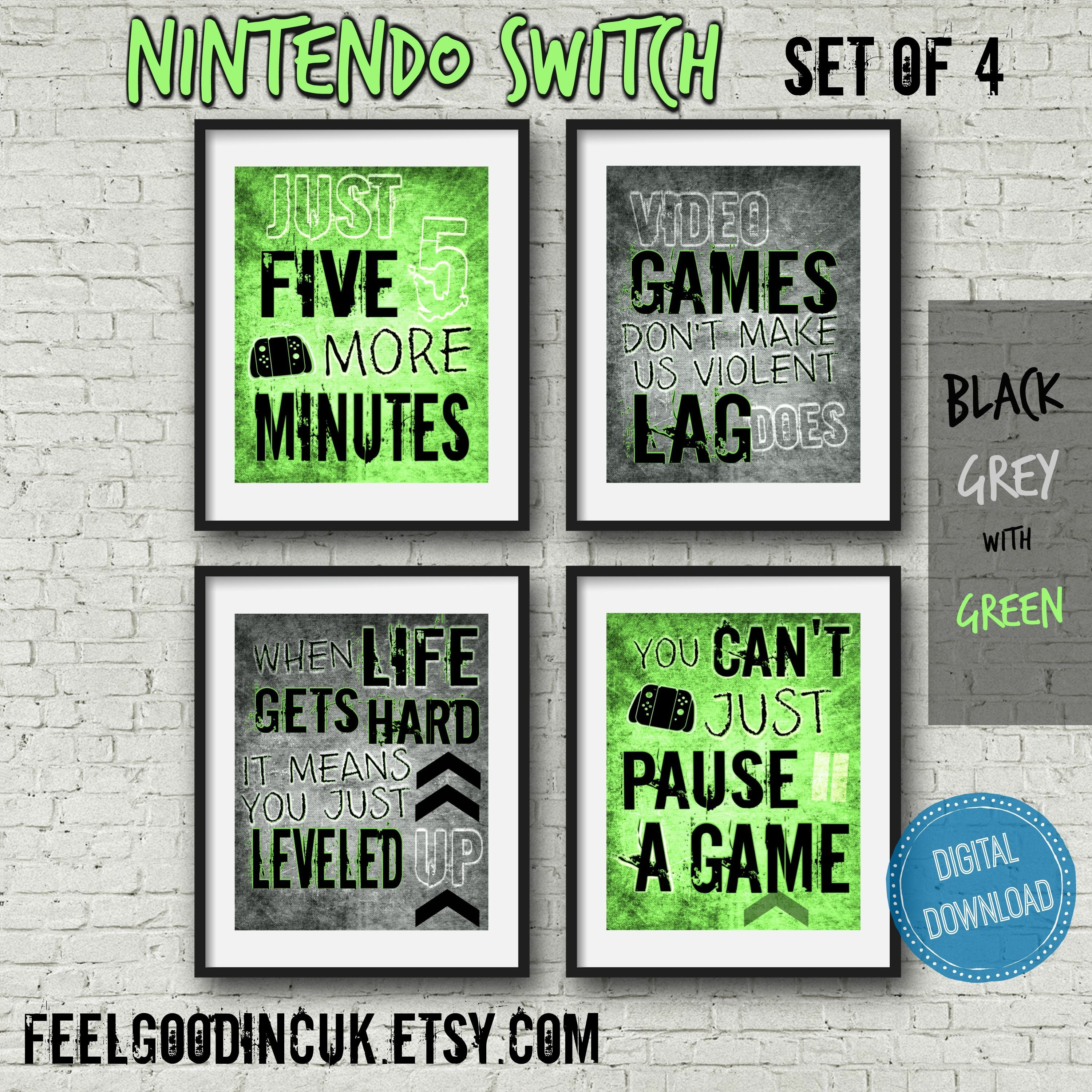 Video Game Posters  Great Gift And Gamer Decor Ideas