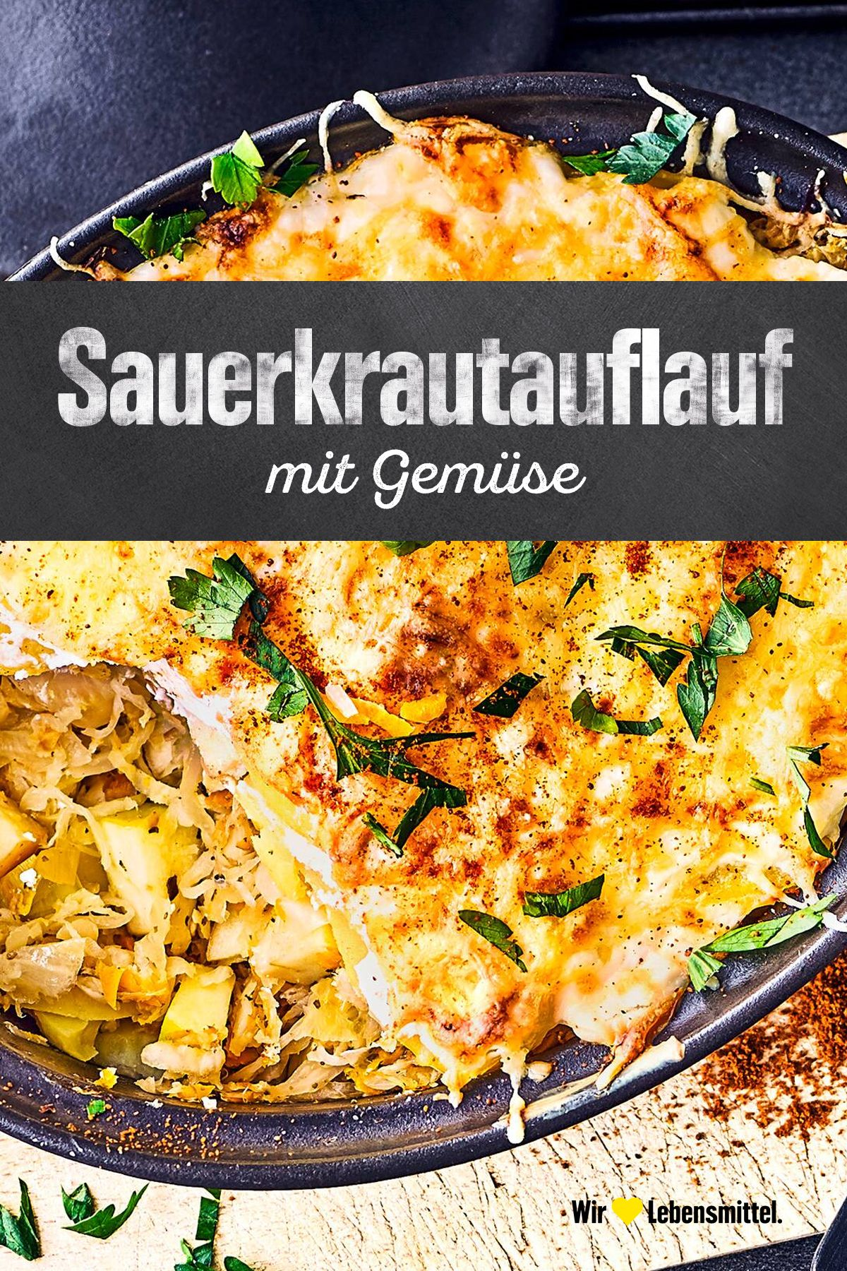 Photo of Sauerkraut and vegetable casserole