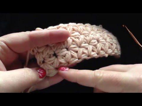 Jasmijnsteek Jasmine Stitch Youtube Crochet Stitch Crochet