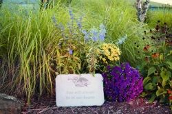 Memory gardens are a beautiful way to honor and remember loved ones.