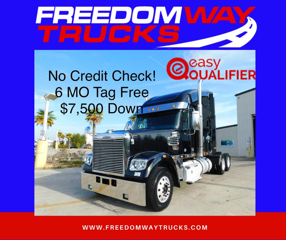 Black Beauty 2015 Freightliner Coronado Stock 5198 Freightliner Trucks Coronado
