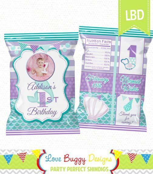 Custom Chip Bags Candy Bag Popcorn Bag Personalized Favor Bag Party Bag BLANK CUSTOM DESIGN