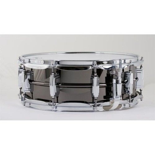 Ludwig LB416 5X14 Brass Shell Black Beauty Snare Drum