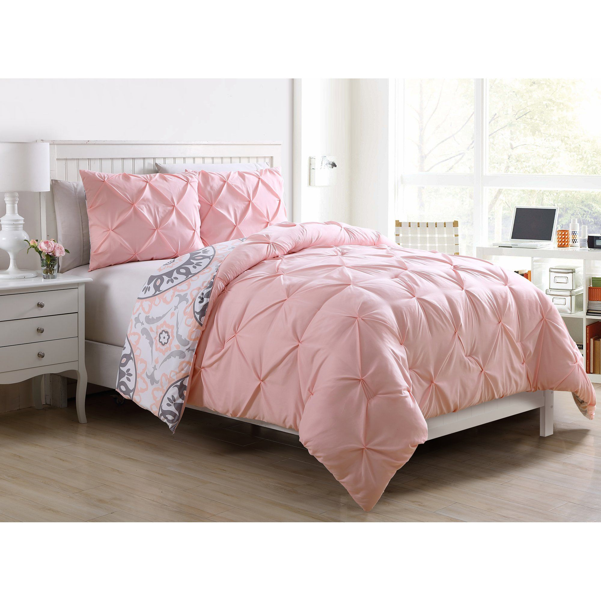 my cover twin girls comforter little itm ml new full kids pony reversible bedding