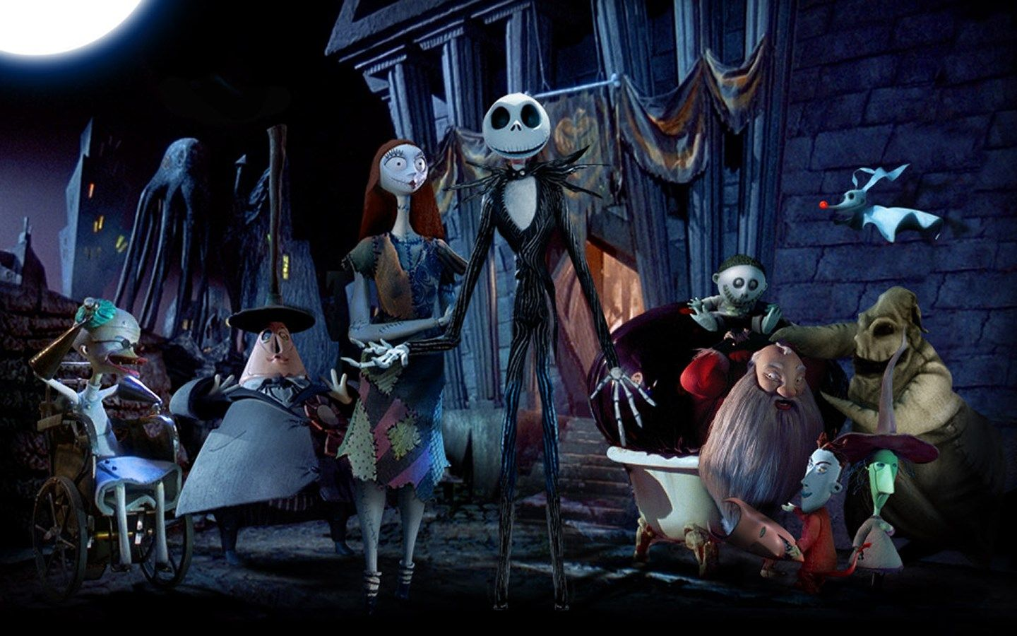 1440x900 Free Pictures The Nightmare Before Christmas Nightmare