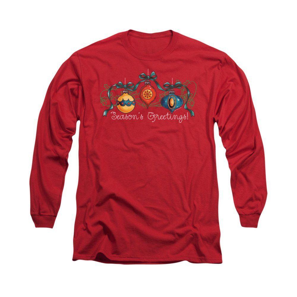 Ornaments Adult Long Sleeve T-Shirt