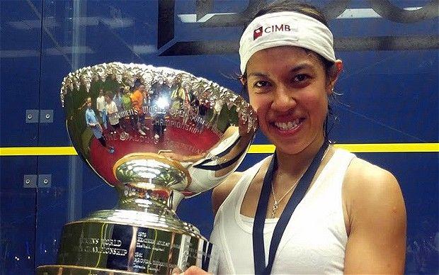 Malaysian Nicol David beats Laura Massaro to world title and