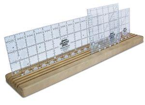 Omnigrid Wooden Ruler Rack | Sewing Wishlist | Pinterest | Wooden ... : quilt ruler holder - Adamdwight.com