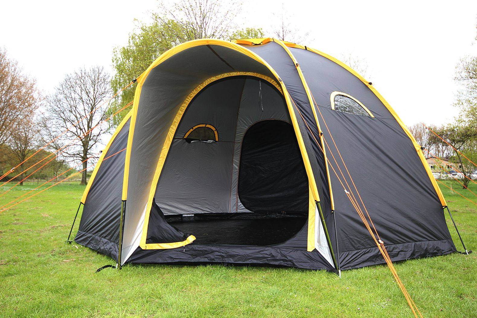 Modular POD tents connect to create multi-room c&ing getaways for family and friends & Modular POD tents connect to create multi-room camping getaways ...