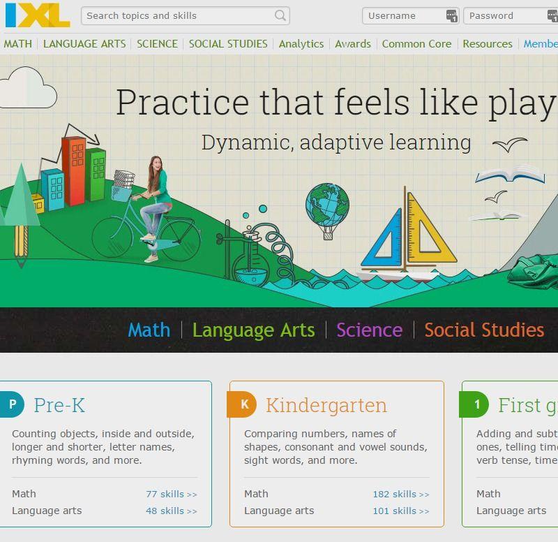 IXL | Math, Language Arts, Science, and Social Studies Practice ...