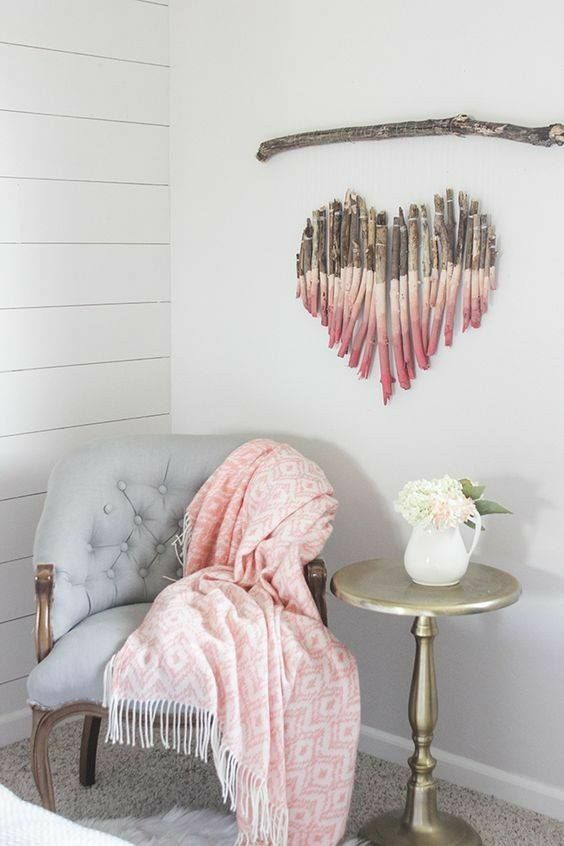 55 Amazing DIY Home Decor For A Pretty And Cozy Home Wall decor