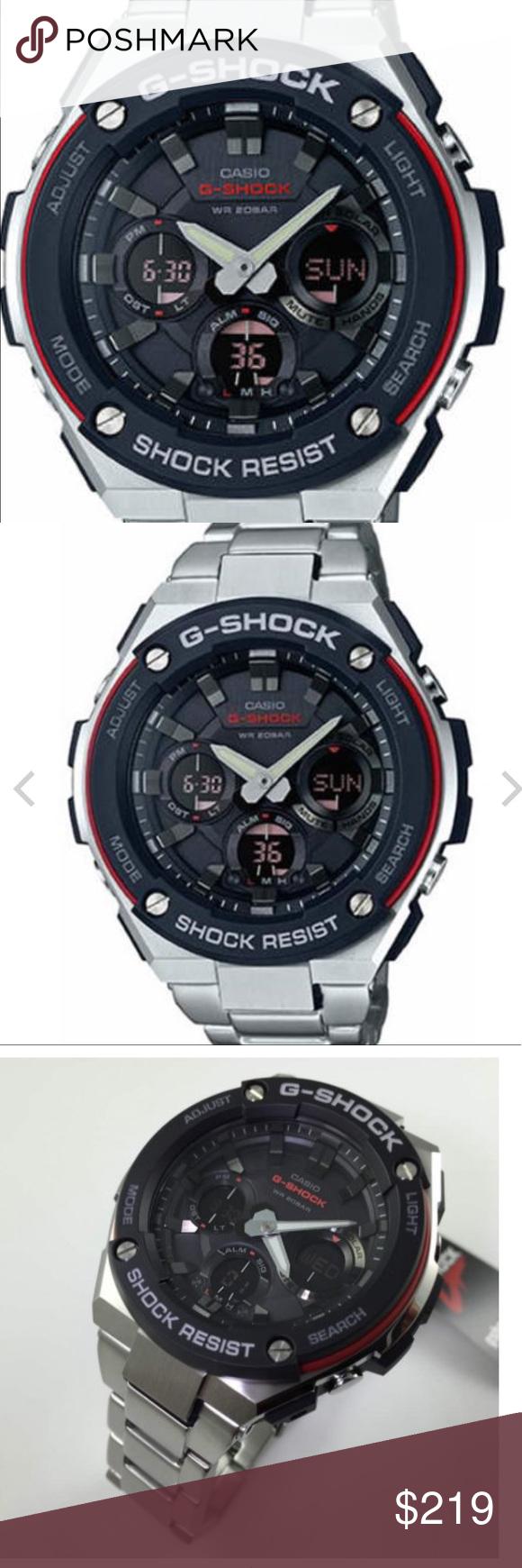 973132a0c29 G-shock watch all metal