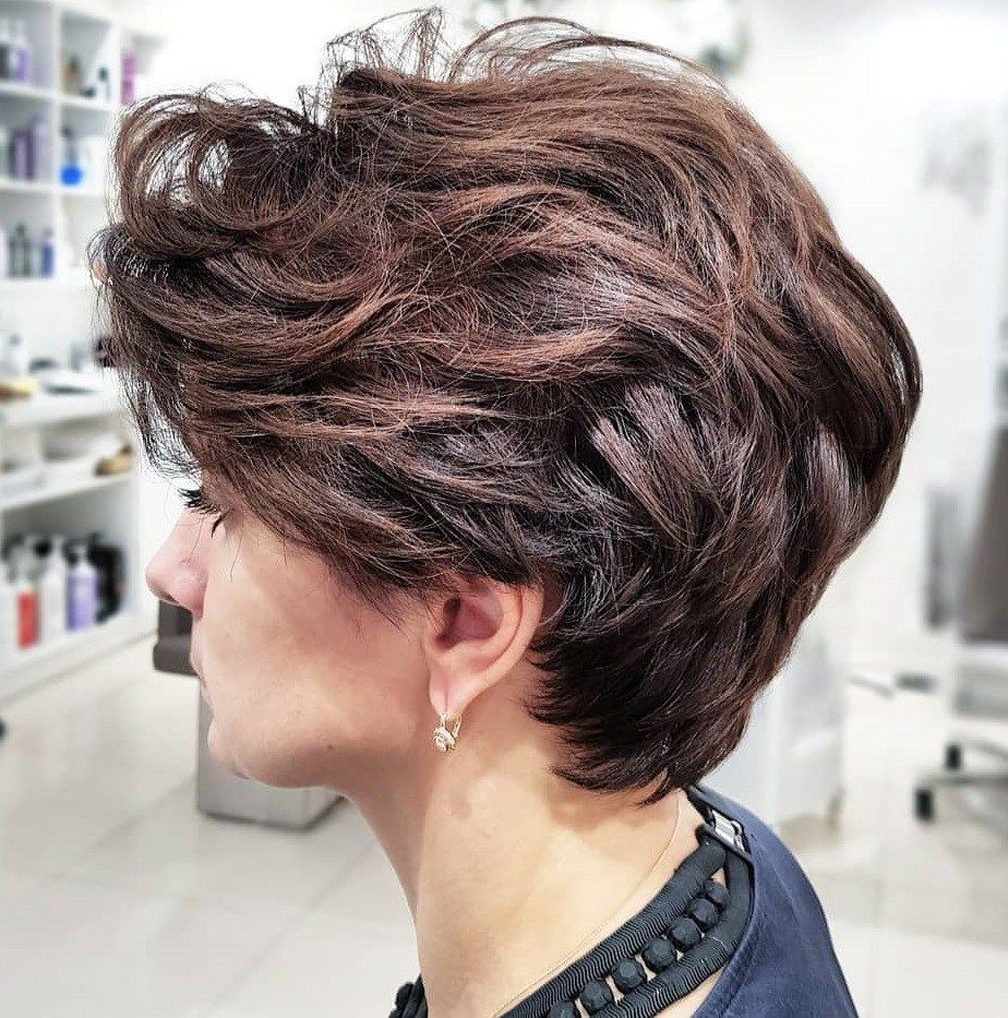 60 Classy Short Haircuts And Hairstyles For Thick Hair Short Hairstyles For Thick Hair Thick Hair Styles Thick Hair Pixie