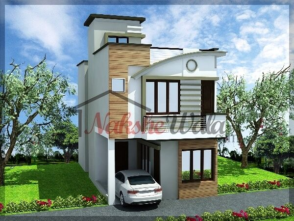 Front Elevation Cost : D front elevation design indian kerala