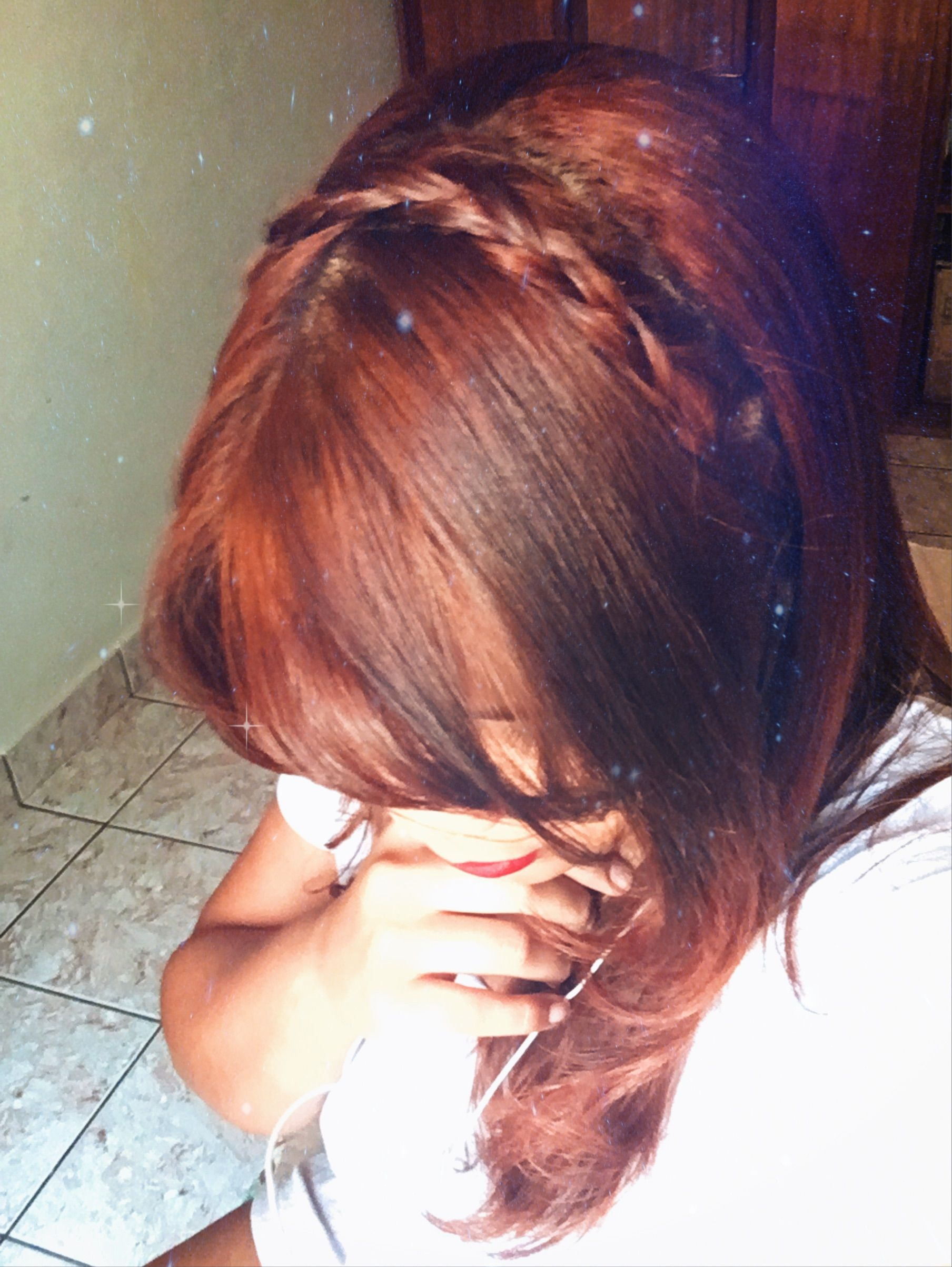 Braided crown quick and easy hairstyle for long or medium hair